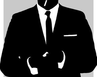 Don Draper - Mad Men - Character Poster