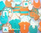 Baby Shower Sugar Cookies - 1 Dozen