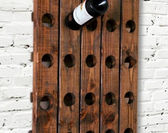 Popular items for wood wine rack on Etsy