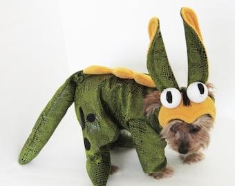 Special order handmade pet costume Hoppy