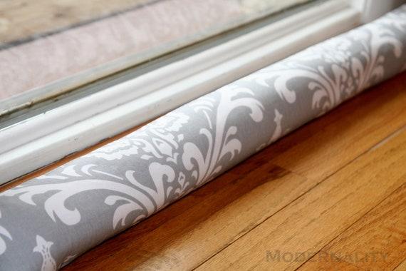 Sale breeze blocker cold air draft stopper grey ozborne for Door air blocker