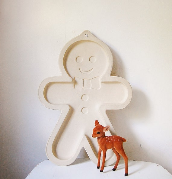 Gingerbread Man Cookie Baking Mold Large