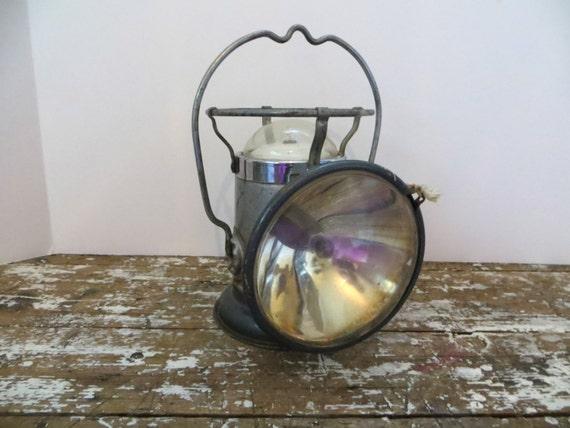 Delta Powerlite Lantern Vintage Railroad Lantern Mining
