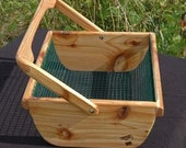 Country Basket - for Gardening, Decoration and Gifting -L-