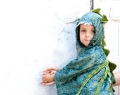 Dragon Costume, Kid Costume, Party Fairy Tale Dragon Green Costume or Halloween Costume with Wings for Boys or Girls oht, tbteam