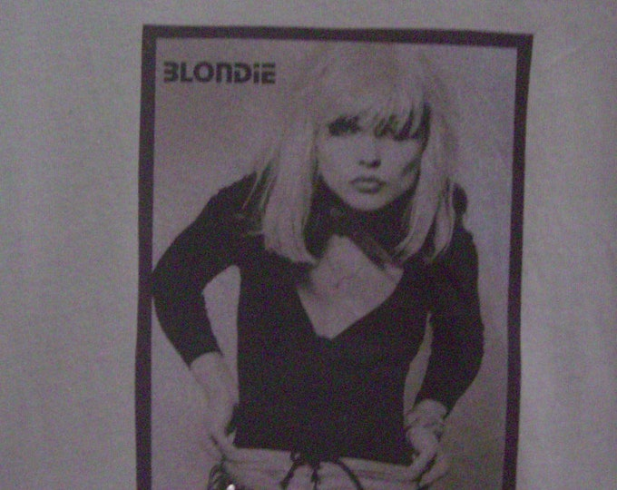 Clothing, Women's Tops and Tees, Blondie T-Shirt, Debbie Harry Shirt, Shirts for Women, Fashion Shirt, Handmade Rock Shirt