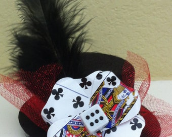 Poker Card Fascinator