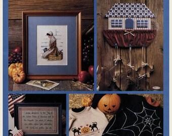 Vintage 1990 Celebrations Cross Stitch and Craft Magazine, Autumn 1990