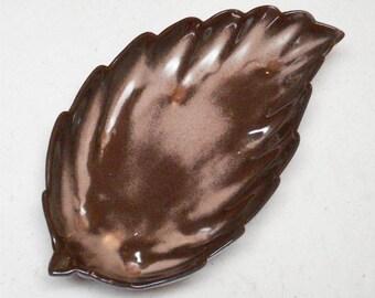 Frankoma Leaf Dish 226 Plainsman 12 Inch
