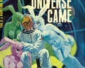The Day the Universe Came - 10x17 Giclée Canvas Print of Vintage Pulp Paperback