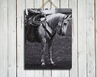 Rodeo Horse - 11x14 in. - Rodeo art - Horse art - Rodeo photography - Rodeo photo - Horse photography - Horse photograph - Rodeo decor