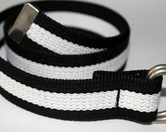 """Extra Long Belt Mens Ladies Plus Size Belt 1.25"""" Wide Extended Size Belt Plus Size Belt XXL Belt Extra Large Canvas Belt Woman's Belt"""