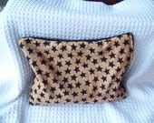 Microwavable Corn Bag, Primitive Black Star Bag, Corn Heating Pad
