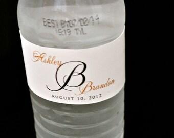 Custom Water Bottle Labels - Wedding Water Bottle Labels - Hotel Bags for Weddings