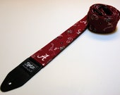 College team handmade double padded guitar strap made - This is NOT a licensed product.