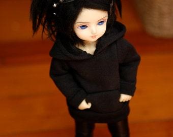 YoSD Black Hoodie For BJD