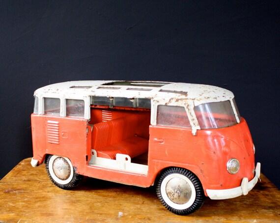 Vintage Buddy L Volkswagon Beetle Bus