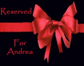 RESERVED FOR ANDREA