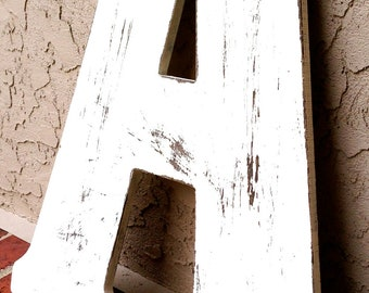 Distressed Wall letter