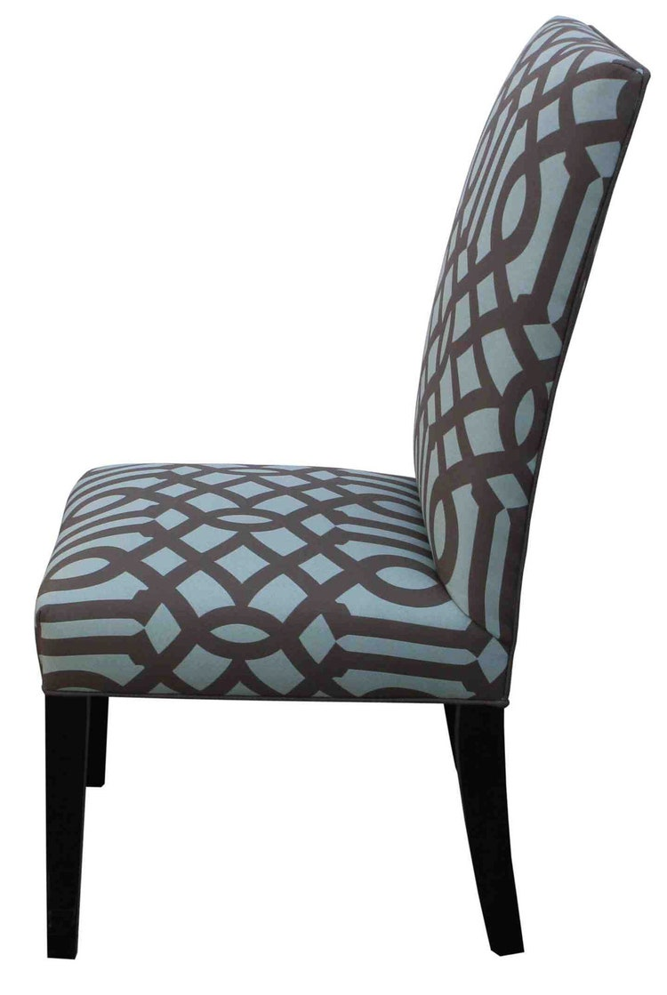 contemporary custom upholstered dining chair by mortiseandtenon