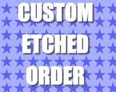 Custom listing for RT