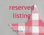 Reserved listing for Ursula. - Bunting with stars in grey and red - 12 flags
