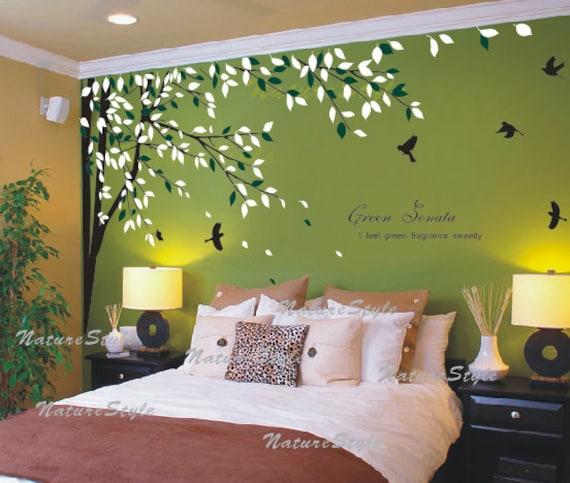 Vinyl wall decal wall sticker nursery room vinyl decal tree decal
