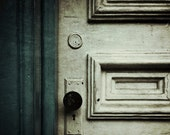 """Fine art photography - matted print - iphoneography - """"White Door"""""""