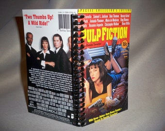 Pulp Fiction VHS box notebook