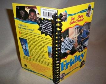 Friday VHS box notebook