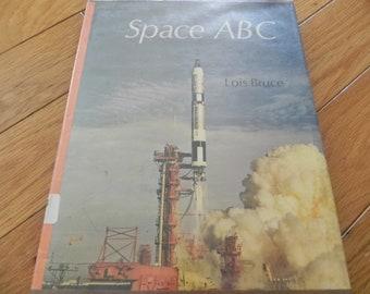 Vintage Book - Space ABC - 1967