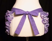 Pale Shades of Purple Bum Ruffle Fairytale Hip Scarf