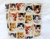 Men's SMALL Cats Pocket Vneck T Shirt