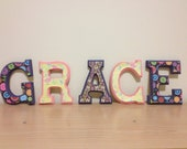 Custom Name Wooden Letters - You Pick Style