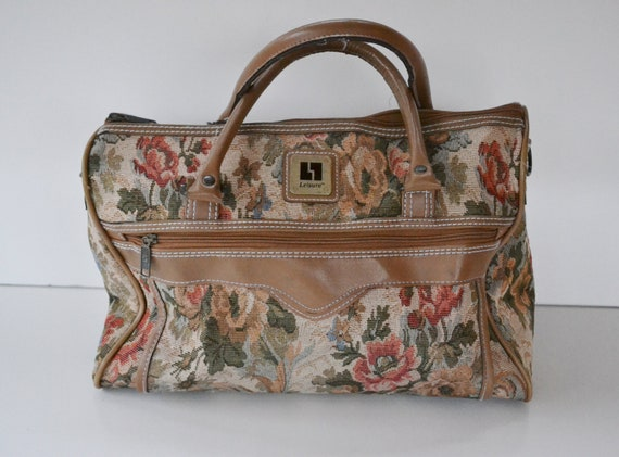 Vintage Floral Luggage | Luggage And Suitcases