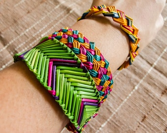 Lahu Grass woven Bracelet/Hippie /Boho /Wholesale