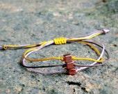 Copper cubes  Friendship Bracelet.