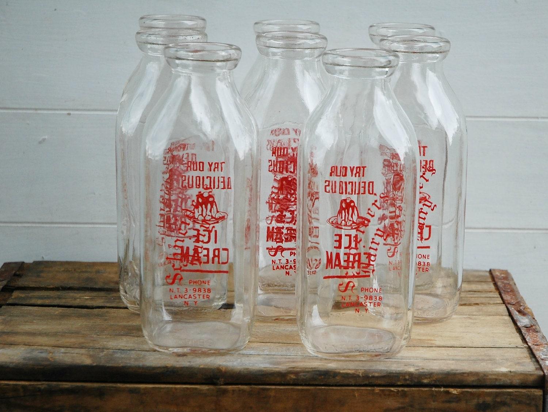 Old Dairy Milk Bottles 12