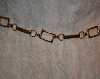1970 Era Rectangular Metal Belts