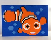 Finding Nemo Lego Painting