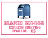Upgrade to US Express Shipping (overnight delivery in most states)