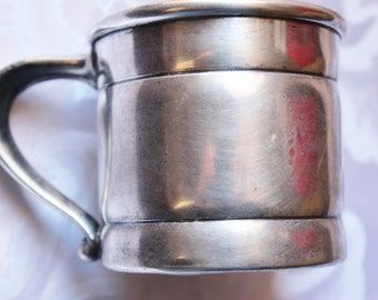 Antique Derbys P. Co. Silver Childs Cup