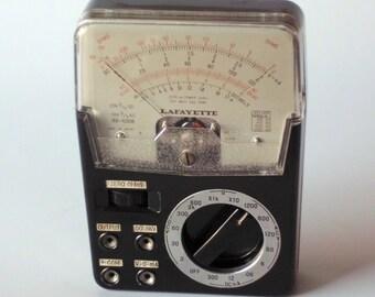 Vintage Lafayette 99-5008 Multimeter Japan Bakelite