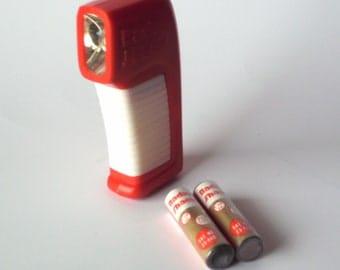 Radio Shack Miniature Flashlight and Original Batteries