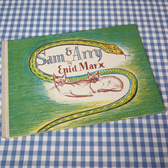 sam and arry or thereby hang two tails, vintage 1972 children's book