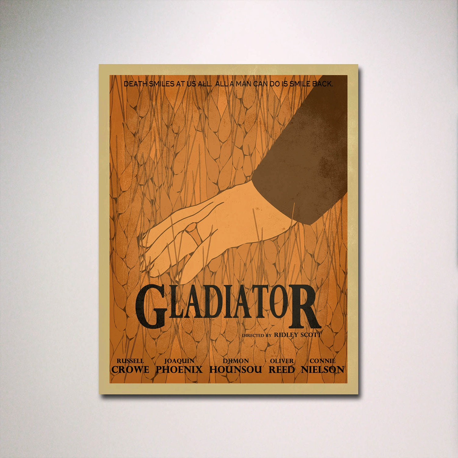 Gladiator Movie Painting Gladiator Minimalist Movie