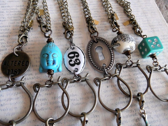 Wholesale Necklaces, Charm Keepers, Set of 6