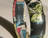 Hulk Comic Book Bracelet