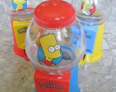 Bart Gumball Machine Dispenser - SHIP FREE