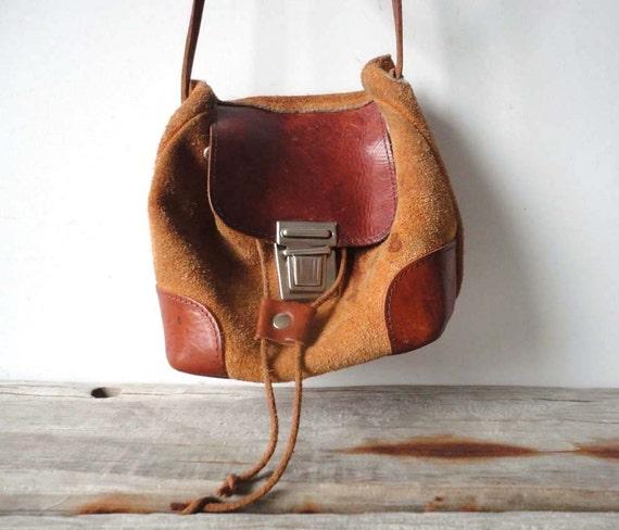 r e s e r v e d Leather & Suede Satchel